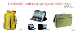 Fashionable Leather Laptop Bags for Mobile Workers