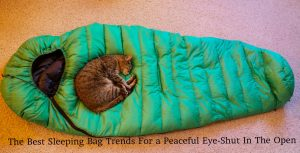 The Best Sleeping Bag Trends For a Peaceful Eye-Shut In The Open