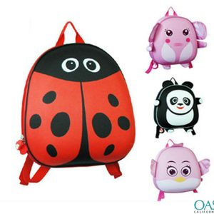 3D Animal Design School Bag Wholesale