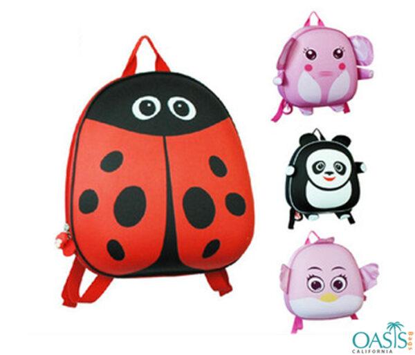 3D Animal Design School Bag Wholesale