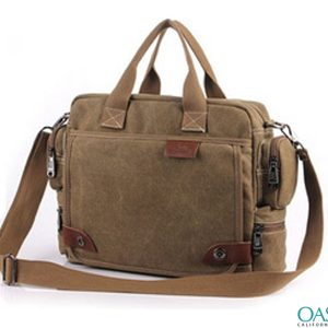 Brown Stylish Messenger Bag Wholesale