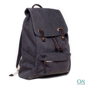 Dark Purple Sophisticated Unisex Backpack Wholesale