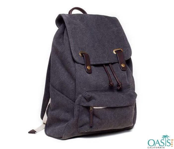 Dark Purple Sophisticated Unisex Backpack Wholesale