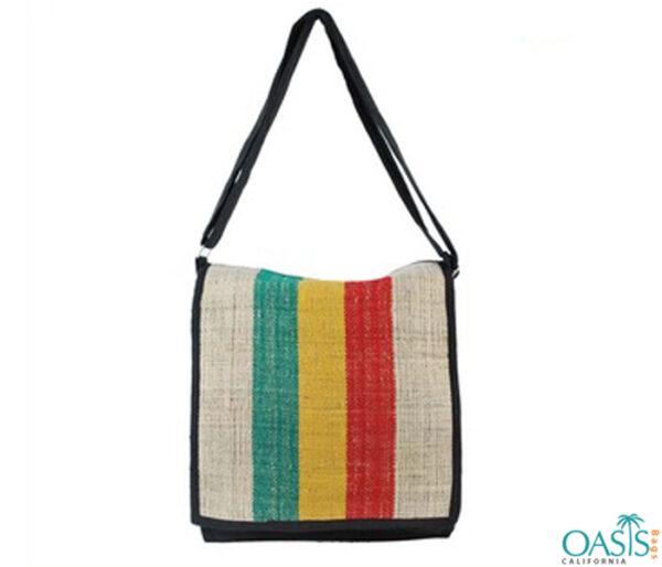 Natural Rasta Hemp Bag Wholesale