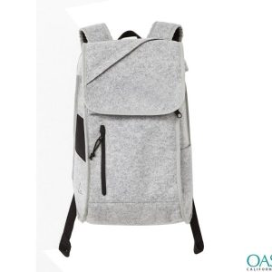 Sober Grey Backpack Wholesale