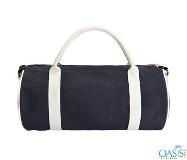 Bulk Blue and Black Custom Private Label Gym Bags Wholesale Manufacturer in USA, Canada, Australia