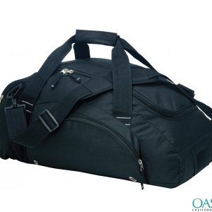 Bulk Black Fluffy Custom Private Label Gym Bags Wholesale Manufacturer in USA, Canada, Australia