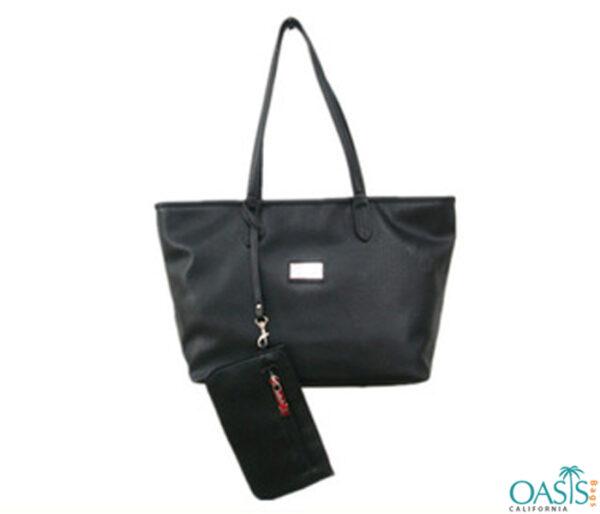 Black Shine Tote Bag Wholesale Manufacturer in USA, Canada, Australia