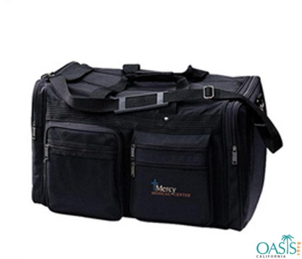 Black Stag Duffel Bag For The He Man Wholesale
