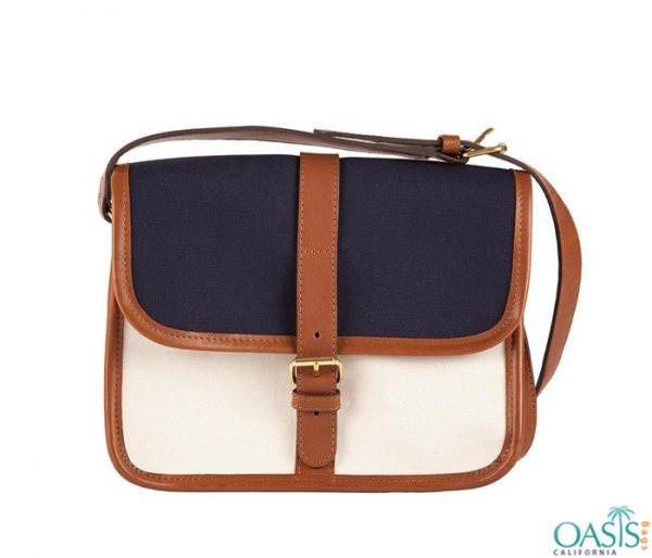 Bulk Blue and White Block Custom Private Label Satchel Bags Wholesale Manufacturer in USA, Canada, Australia