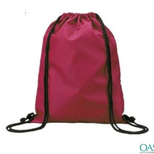 Bright Jute Poly Dust Drawstring Bag Wholesale