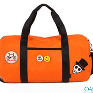 Bright Orange All In One Duffel Bag Wholesale