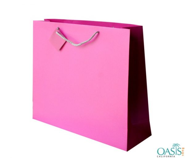 Candy Pink Gift Bag Wholesale Manufacturer in USA, Canada, Australia
