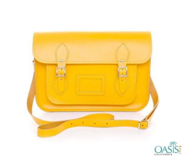 Bulk Candy Yellow Satchel Bags Wholesale Manufacturer in USA, Canada, Australia