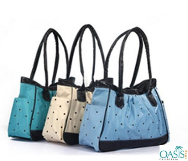 Carry Bag Style Side Pocket Diaper Bag Wholesale
