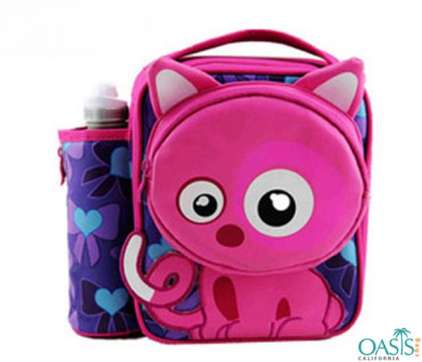 Cat Print Cooler Bag Wholesale