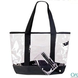 Clear Tote Beach Cum Shopping Bag Wholesale Manufacturer in USA, Canada, Australia
