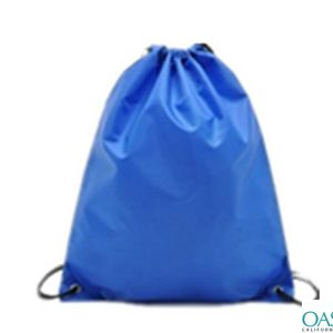 Cobalt Blue Duffle Drawstring Bag Wholesale