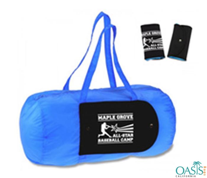 Cobalt Blue Folding Travel Bags Wholesale