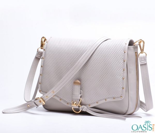 Damsel White Designer Bulk Ladies Bag Wholesaler in USA, Australia, Canada, China