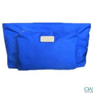 Double Pouch Cosmetic Bag Wholesale