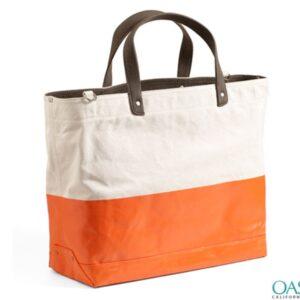Duotone Sturdy Tote Bag Wholesale