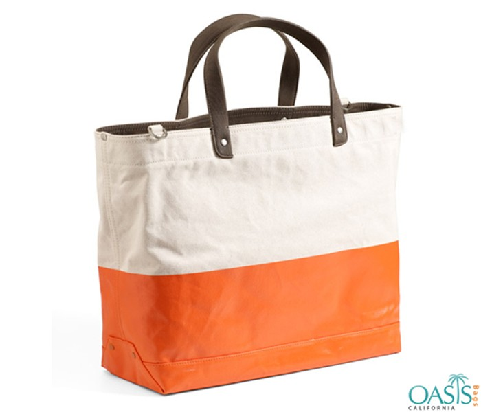 Duotone Sturdy Tote Bag Wholesale