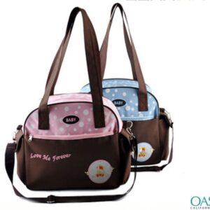 Ebony Hued Diaper Bags Wholesale