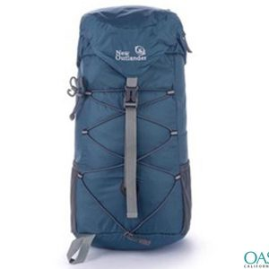 Fashionable Blue Handy Hiking Bag Wholesale