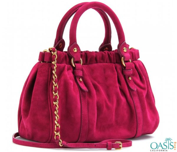 Fuchsia Pink Ladies Bag Wholesaler in USA, Australia, Canada, China