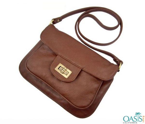 Gorgeous Tan Sling Handbag Wholesale