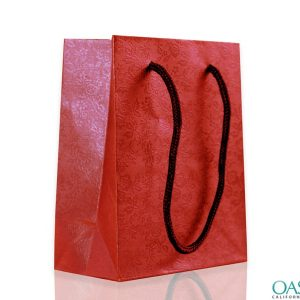 Gradient Red Gift Bag Wholesale Manufacturer in USA, Canada, Australia