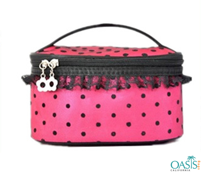 Hot Pink Cosmetic Bag Wholesale