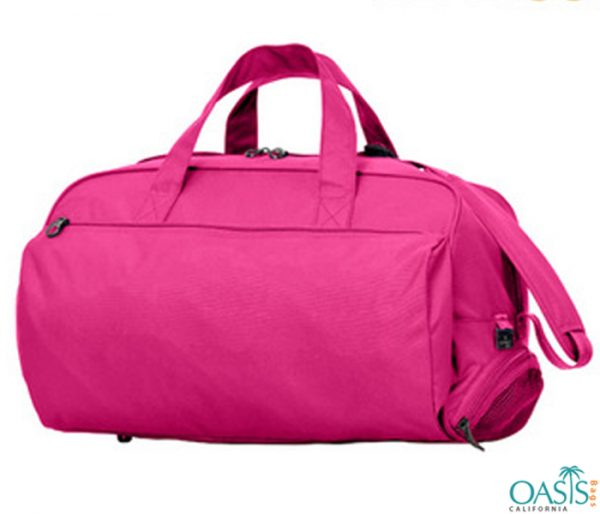 Hot Pink Designer Travel Bag For Girls Wholesale