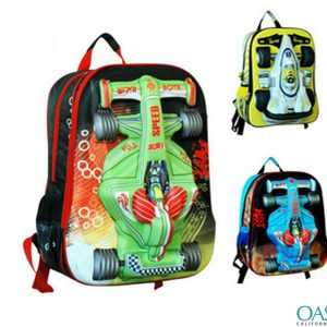 Hot Wheel Designed Backpacks for Boys Wholesale