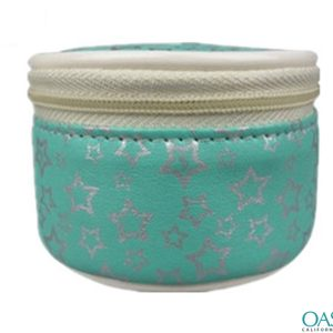 Jade Green Starlit Cosmetic Bag Wholesale