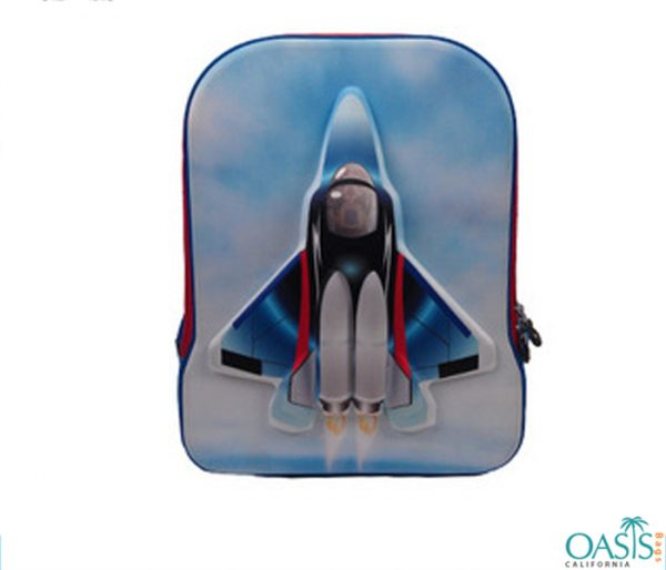 Jet Plane Designed Eva 3D Sports Bag Wholesale