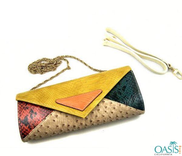 Multi Pattern Designer Sling Handbag Wholesale
