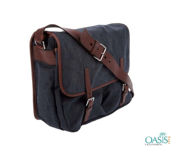 Wholesale Navy Blue Canvas Satchel Bags Manufacturer and Supplier in USA, Canada, Australia