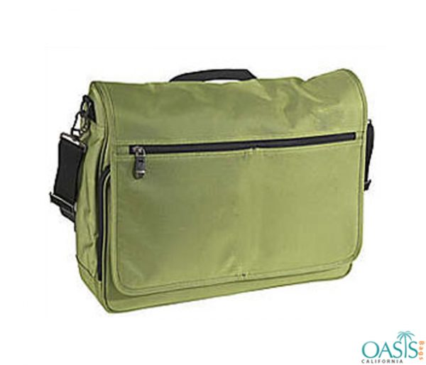 Olive Green Laptop Bag Wholesale