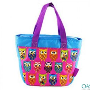 Owl Pattern Cooler Bag Wholesale