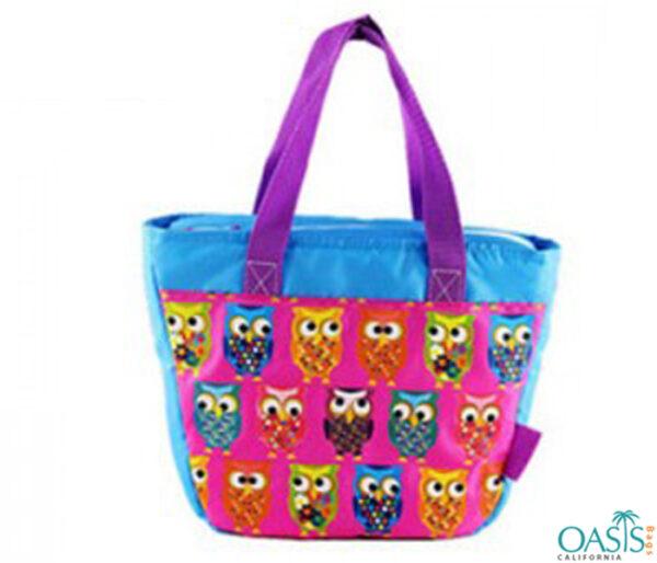 Owl Pattern Cooler Bag Wholesale
