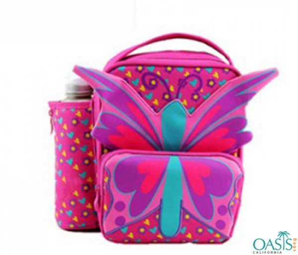 Pink Butterfly Foods Cooler Bag Wholesale