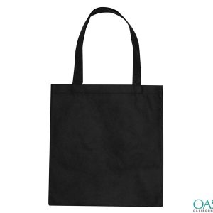 Plain Jane Black Tote Bag Wholesale
