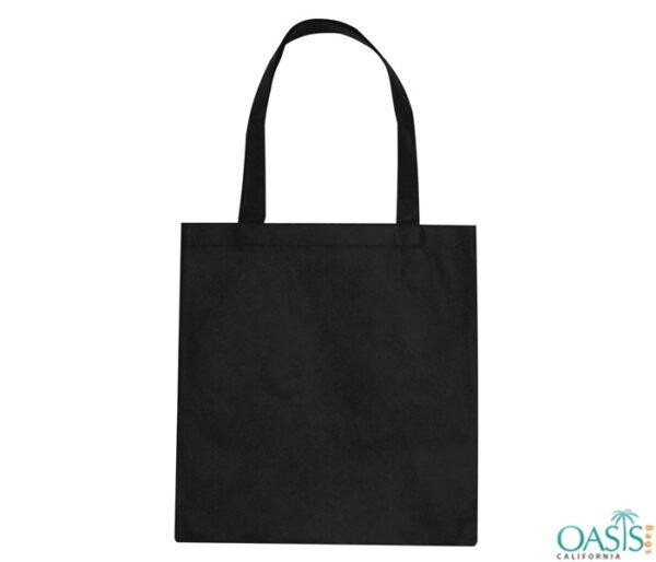 Plain Jane Black Tote Bag Wholesale