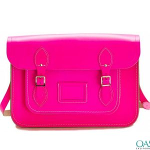 Wholesale Pop Pink Messenger Bag Manufacturer and Supplier in USA, Canada, Australia