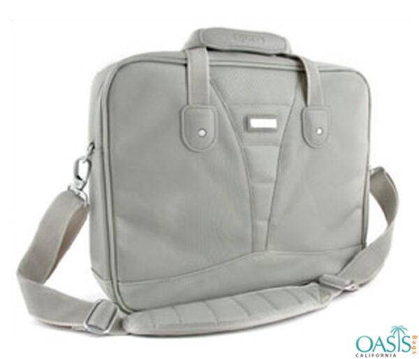 Posh Grey Laptop Bag Wholesale