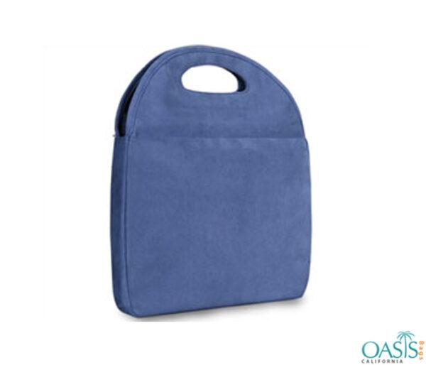 Powder Blue Laptop Grip Bag Wholesale