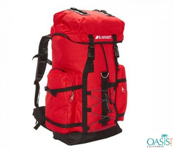 Red and Black Classy Sports Bag Wholesale