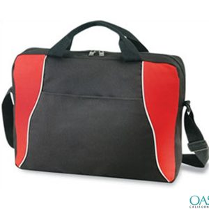 Red Black Laptop Bag Wholesale